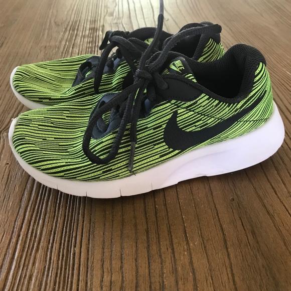 3da5c3a503cb ... get nike tanjun se kids running shoes neon 3771b ebd88